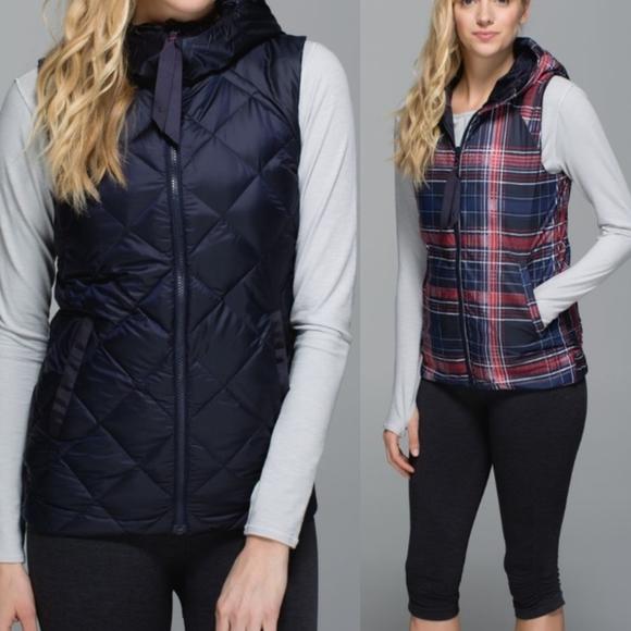 •LULULEMON• Fluffiest Vest Reversible Goose Down